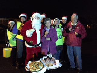 Shepshed Lions Santa Sleigh